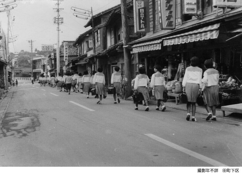 南関町田町下区、昭和45年ごろの写真